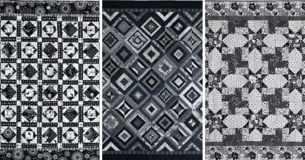and patterns black disappearing nine best images pinterest with white block made quilt quilts on candjmcknight