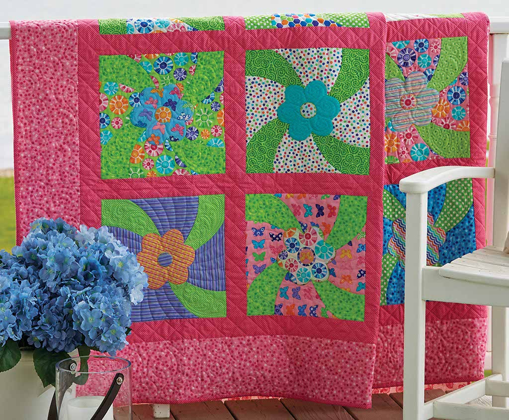 Brighten Up, Buttercup Quilt Pattern