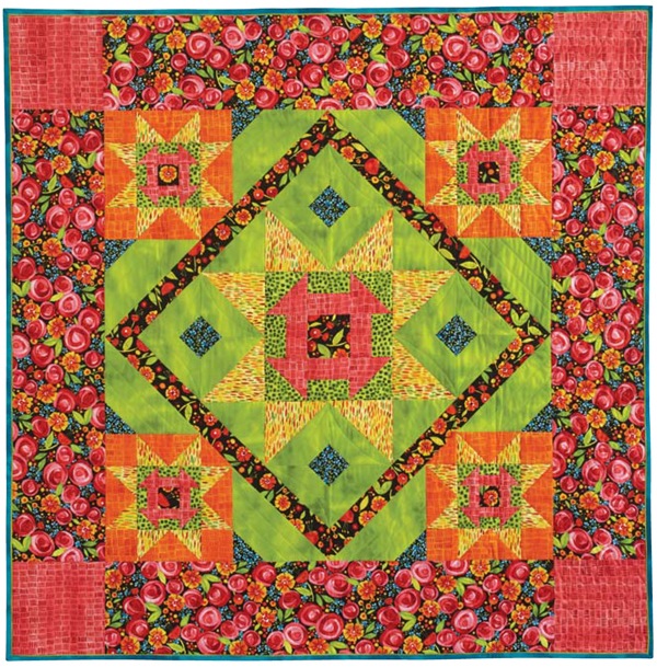Budding Blossoms quilt flat 600 A Pattern Is Just a Place to Begin