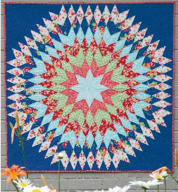 Friday Free Quilt Patterns Bursting Star Mccalls Quilting Blog