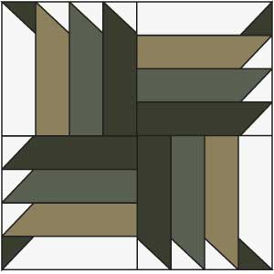 Buzzsaw Block: FREE Buzz Saw Quilt Block Pattern