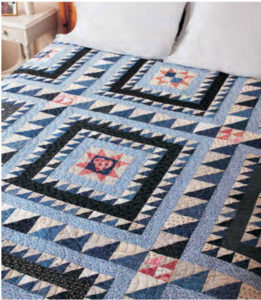 By the Big Lake - King Size Quilts Free eBook