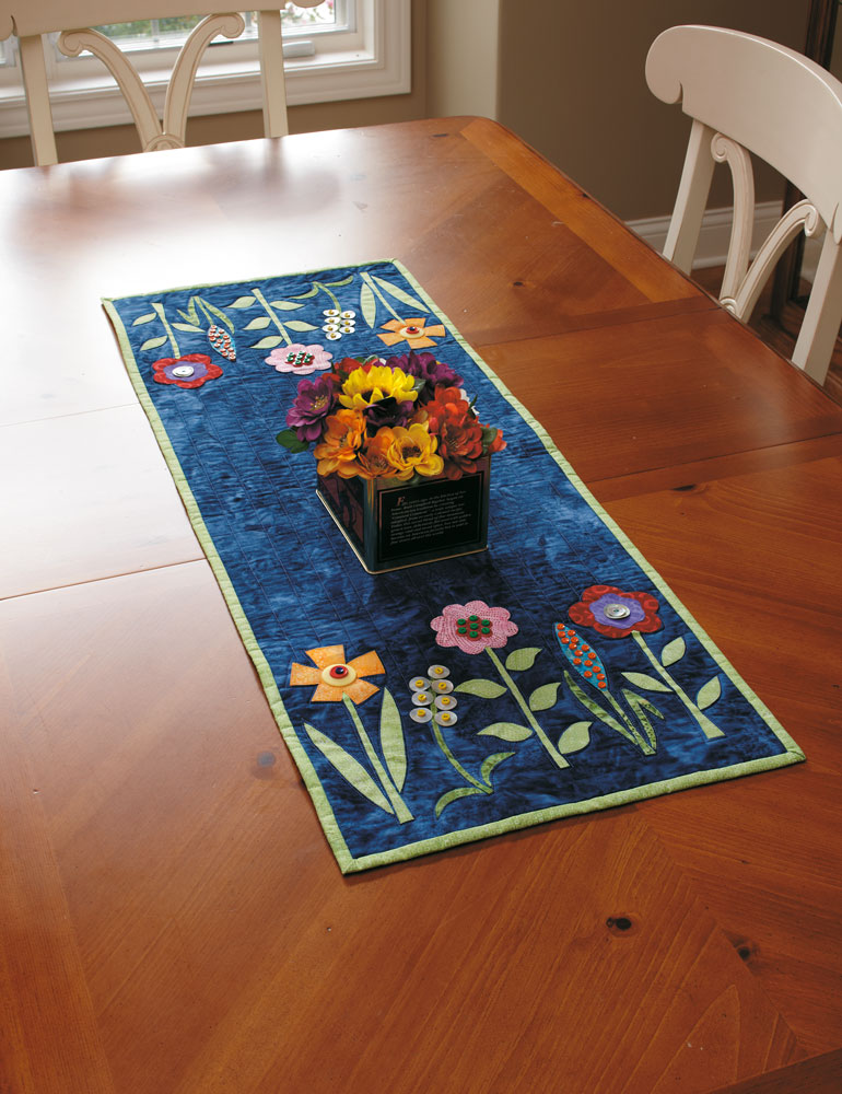Batik Table Runner Quilt Pattern From Fons Amp Porter S Love