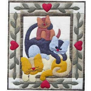 Cats300px Top Ten Valentine Quilts and Projects