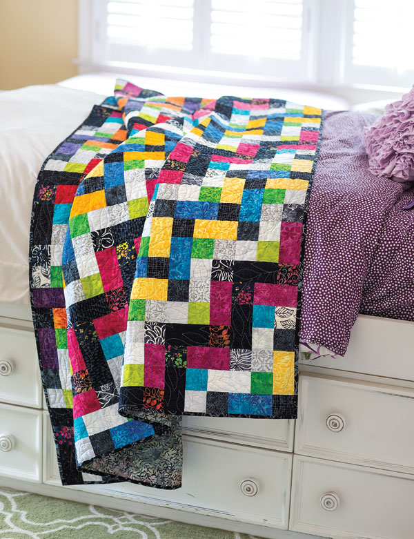 Chain Link -- Colorful Quilts