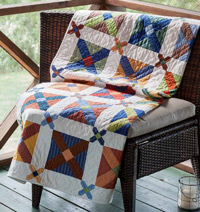 Another common signature quilt style uses the Album Cross quilt block.