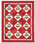 Cherry Jubilee FREE Log Cabin Quilt Pattern