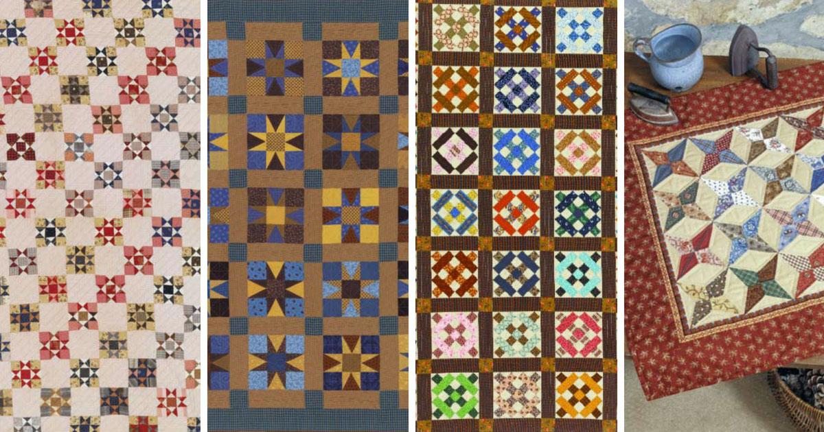 Free Quilt Patterns: Civil War Quilts