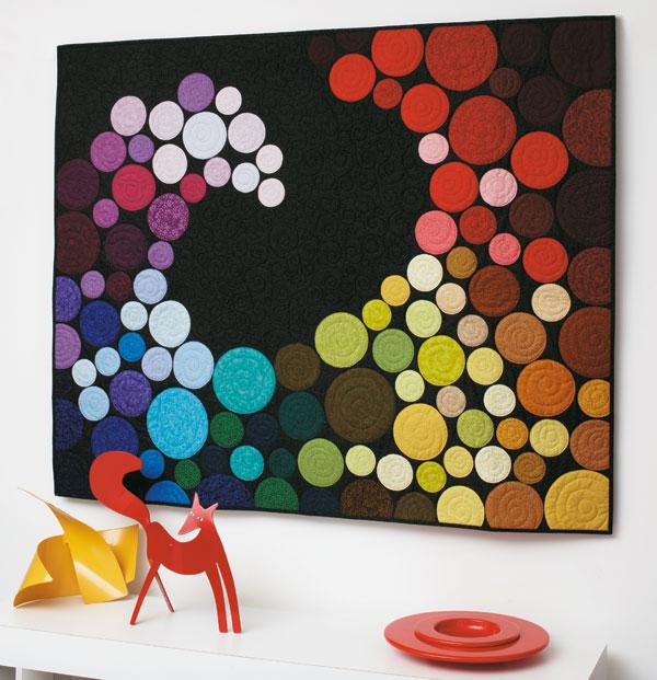 Color Wave -- Colorful Quilts