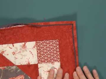 Tuesday Tutorials: Flanged Quilt Binding by Machine - The Quilting ... : how to machine bind a quilt - Adamdwight.com