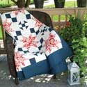 Cottage Charm: Patriotic Extra-Long Twin Quilt Pattern