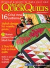 McCall's Quick Quilts October/November 2013