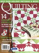 McCall's Quilting November/December 2016