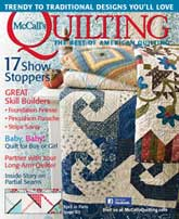 McCall's Quilting March/April 2014