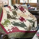 Cozy Lodge: Fat-Quarter-Friendly Twin Size Quilt Pattern