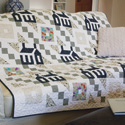 Cozy Town: Sophisticated Lap Size Quilt Pattern