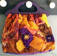 CrazyQuiltBag Beach Bag, Toy Bag, Game Bag, Project Bag, Grocery Bag or Tote Bag. Quilt it!