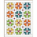 Cross & Crown: FREE Baby Quilt Pattern