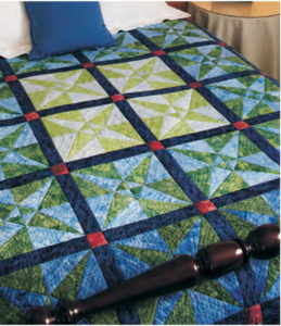 Crossed Kayaks - King Size Quilts Free eBook