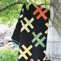 Crosshatch: Jelly Roll King Size Quilt Pattern