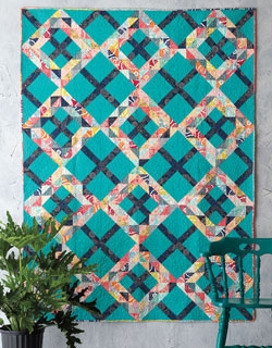 Crossing Waves Quilt