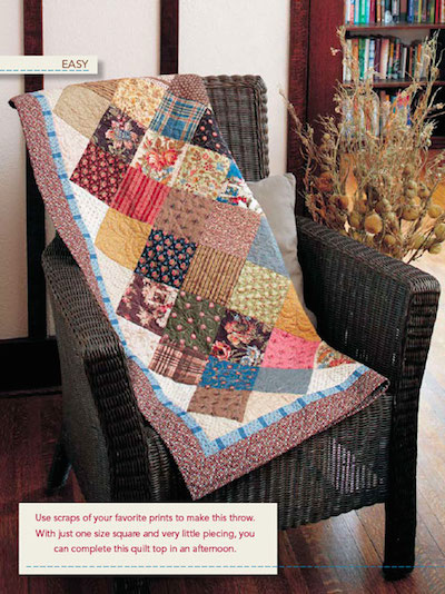 Kaye's Scrap Squares - Scrappy Quilt Patterns