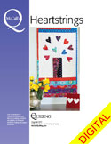 DPMQP1410 Friday Free Quilt Patterns: Rustic Hearts