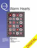 DPMQP150411 Friday Free Quilt Patterns: Rustic Hearts