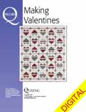 DPMQP150415 Friday Free Quilt Patterns: Rustic Hearts