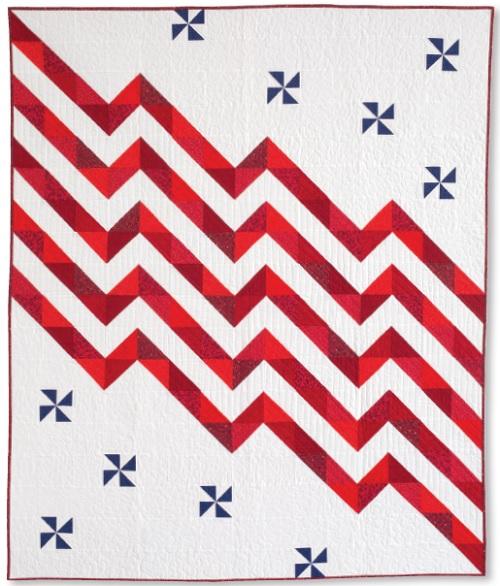 Fluttering Flag Exclusive Quilt Kit