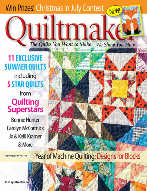 Quiltmaker July/August 2014