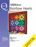 DPQQP150510 Friday Free Quilt Patterns: Rustic Hearts