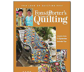 Fons & Porter's Love of Quilting 1100 Series