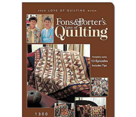 Fons & Porter's Love of Quilting 1300 Series