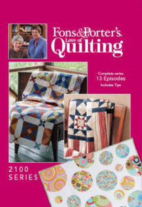 Fons & Porter's Love of Quilting 2100 Series