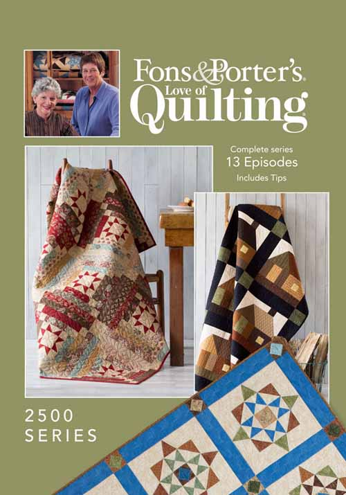 Love Of Quilting Tv Show 2500 Series Fons Porter The