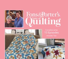 Fons & Porter's Love of Quilting 2600 Series
