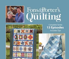 Fons & Porter's Love of Quilting 2700 Series