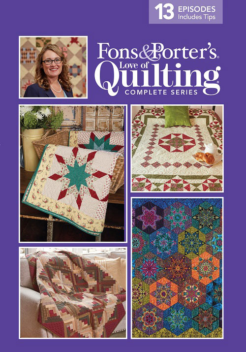 Love Of Quilting Tv Show 3000 Series Fons Porter The