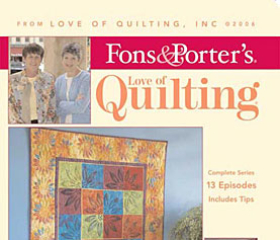 Fons & Porter's Love of Quilting 800 Series