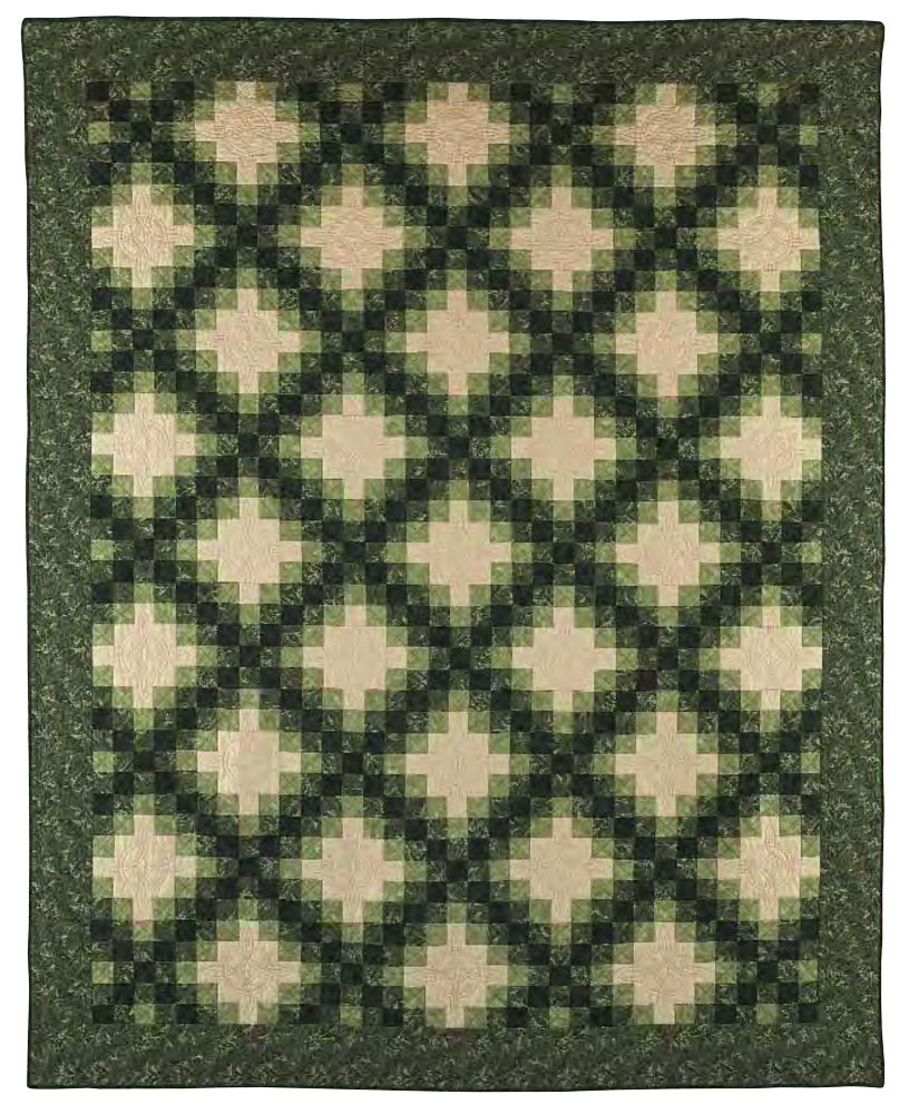 Irish Chain Quilt Pattern New Decoration