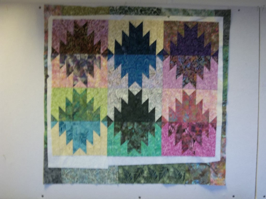 Delectable Mountains | Inside Quilters Newsletter - The Quilting ... : delectable mountain quilt - Adamdwight.com