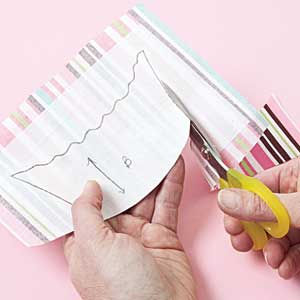FREE Quilting Lesson - How to line appliqué shapes Diagram E