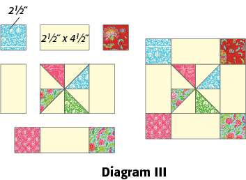 Framed Pinwheel Block: FREE Quilt Block Pattern Download - The ... : quilt patterns free download - Adamdwight.com