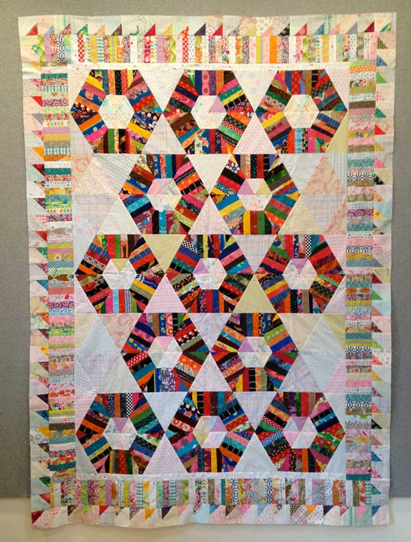 DianeA Quilt Design Wall Monday: 365 Challenge x 2!