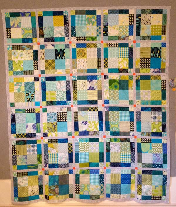 DianeB Quilt Design Wall Monday: 365 Challenge x 2!