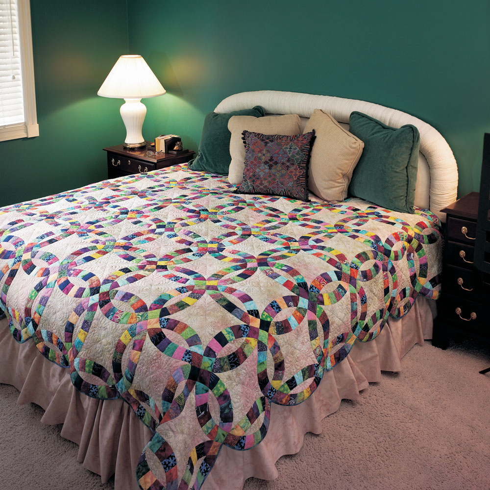 Stunning Traditional Batik Quilt Pattern for Challenging Quilters