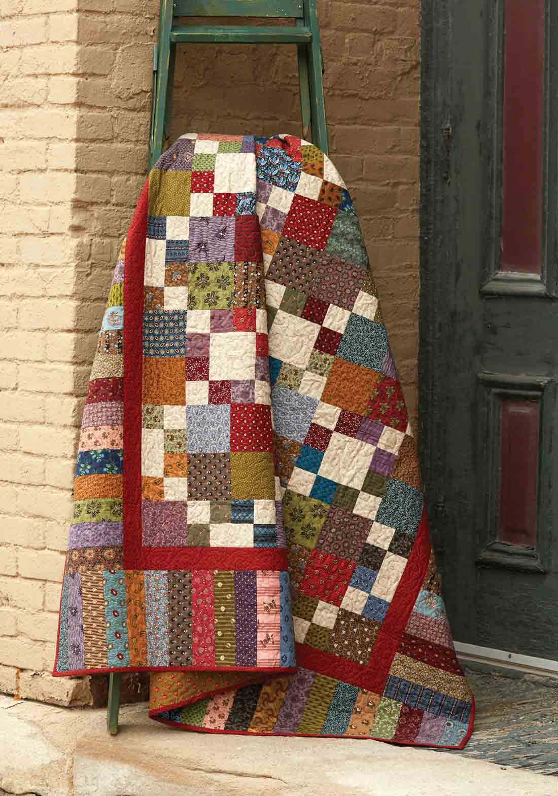 Double 4 Patch Quilt Fons Porter The Quilting Company