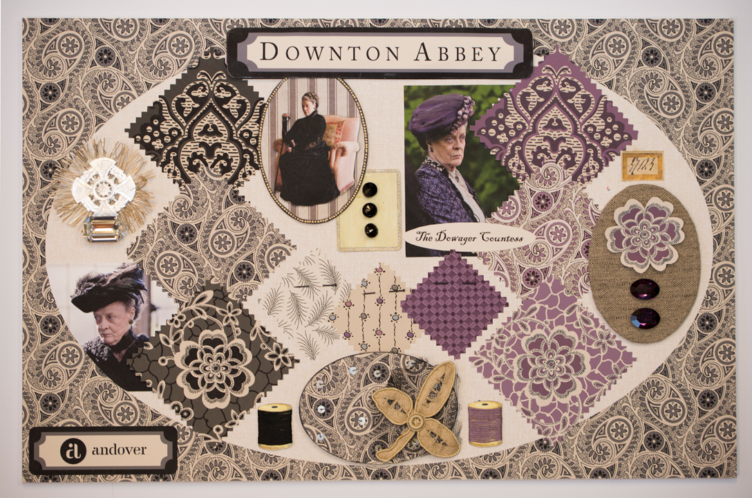 Downton Mood Board The Dowager Quiltmaker + Downton Abbey + Andover = Fabulous!