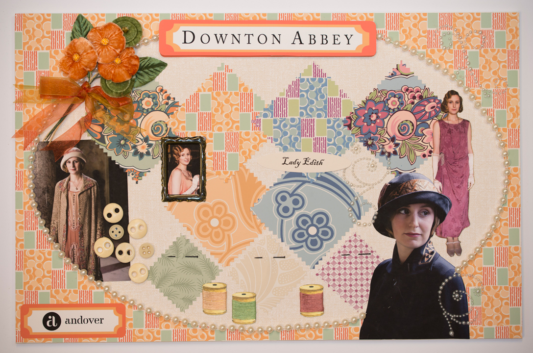 Downton Mood Boards Edith Quiltmaker + Downton Abbey + Andover = Fabulous!